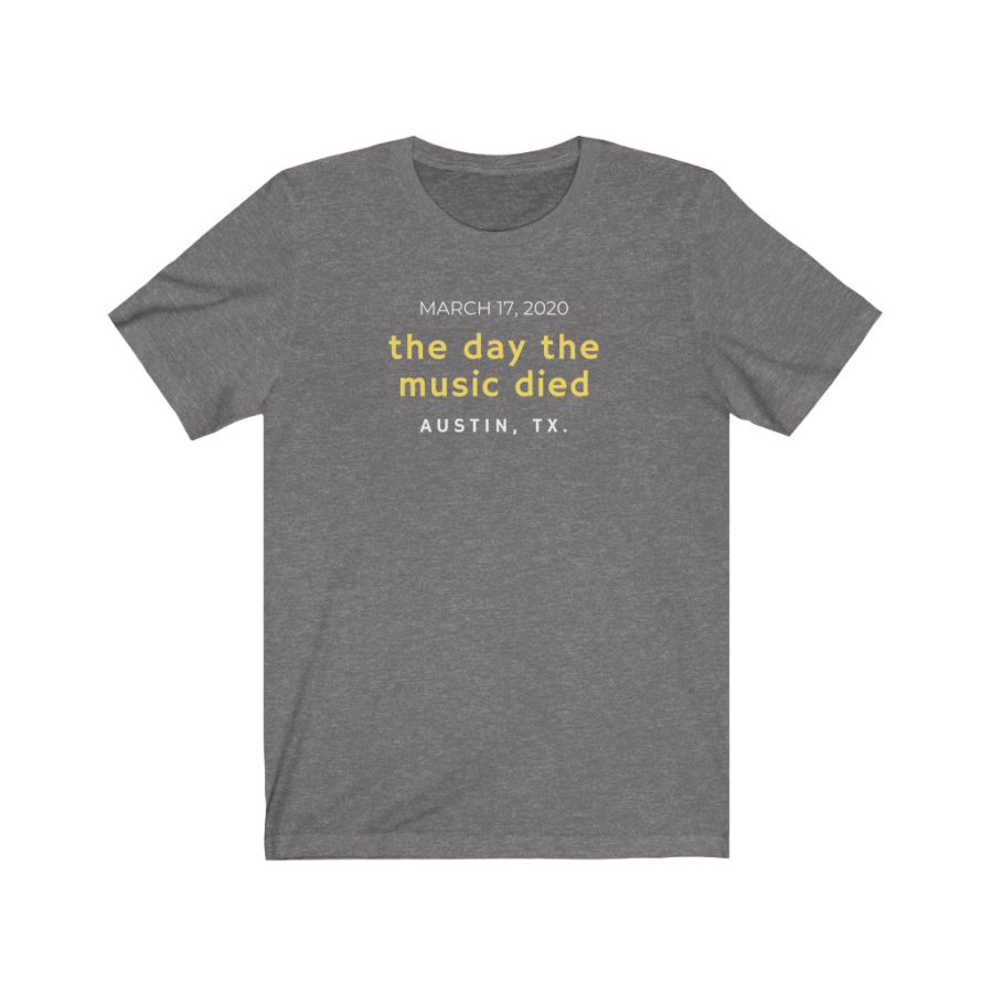 The Day The Music Died Austin, TX - Soft Cotton T Shirt