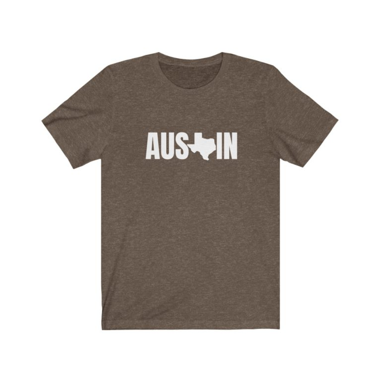 Austin Texas Soft Cotton Tee Shirt