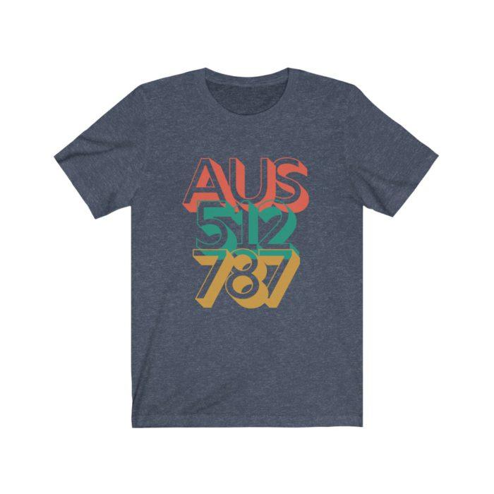 AUS 512 787 Austin - Tee Shirt
