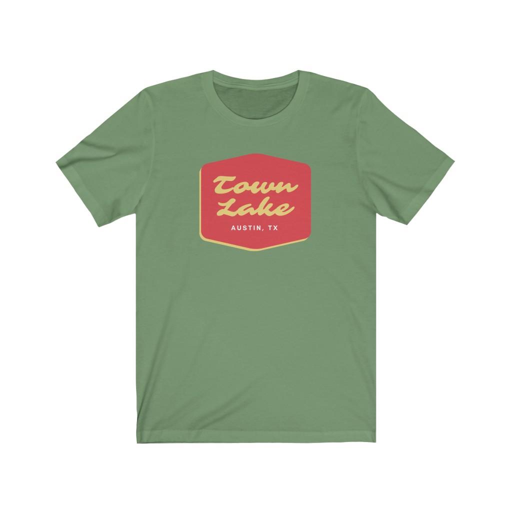 Town Lake T Shirt - Austin TX