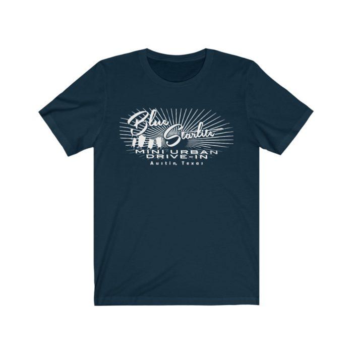 Blue Starlite Drive In T Shirt - Austin TX