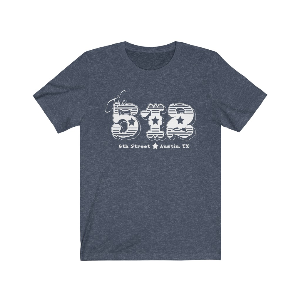 512 On 6th Bar T Shirt - 6th Street - Austin TX