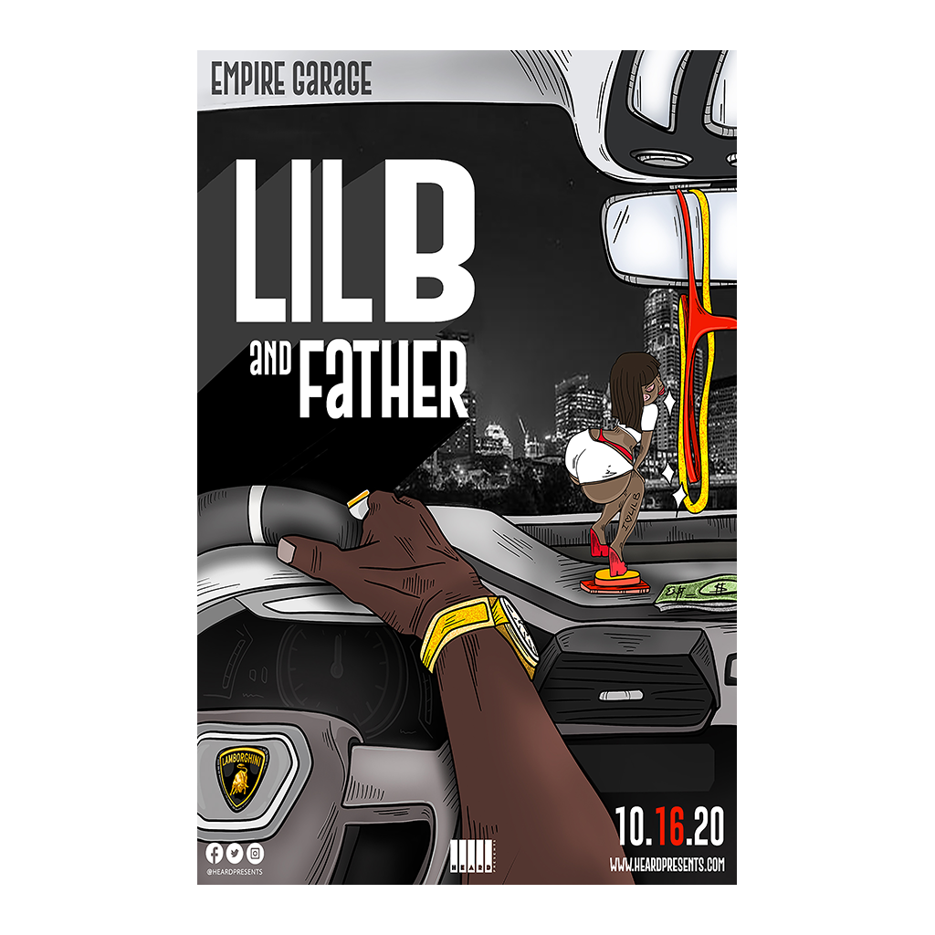 Lil B at Empire Austin Show Poster