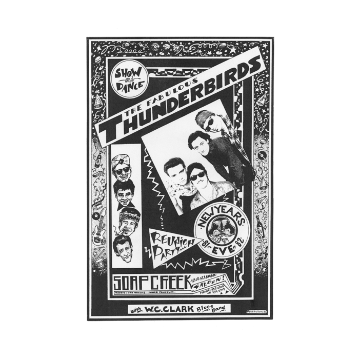 Fabulous Thunderbirds at Soap Creek Saloon Poster