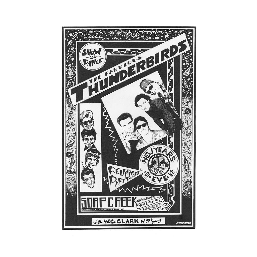 Fabulous Thunderbirds at Soap Creek Saloon Poster
