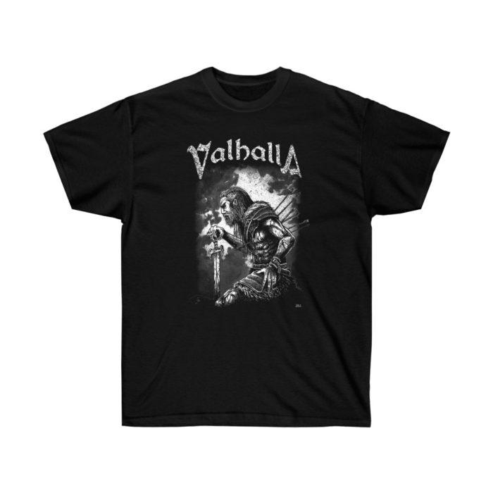 Valhalla Austin - Warrior Heavy Cotton T Shirt