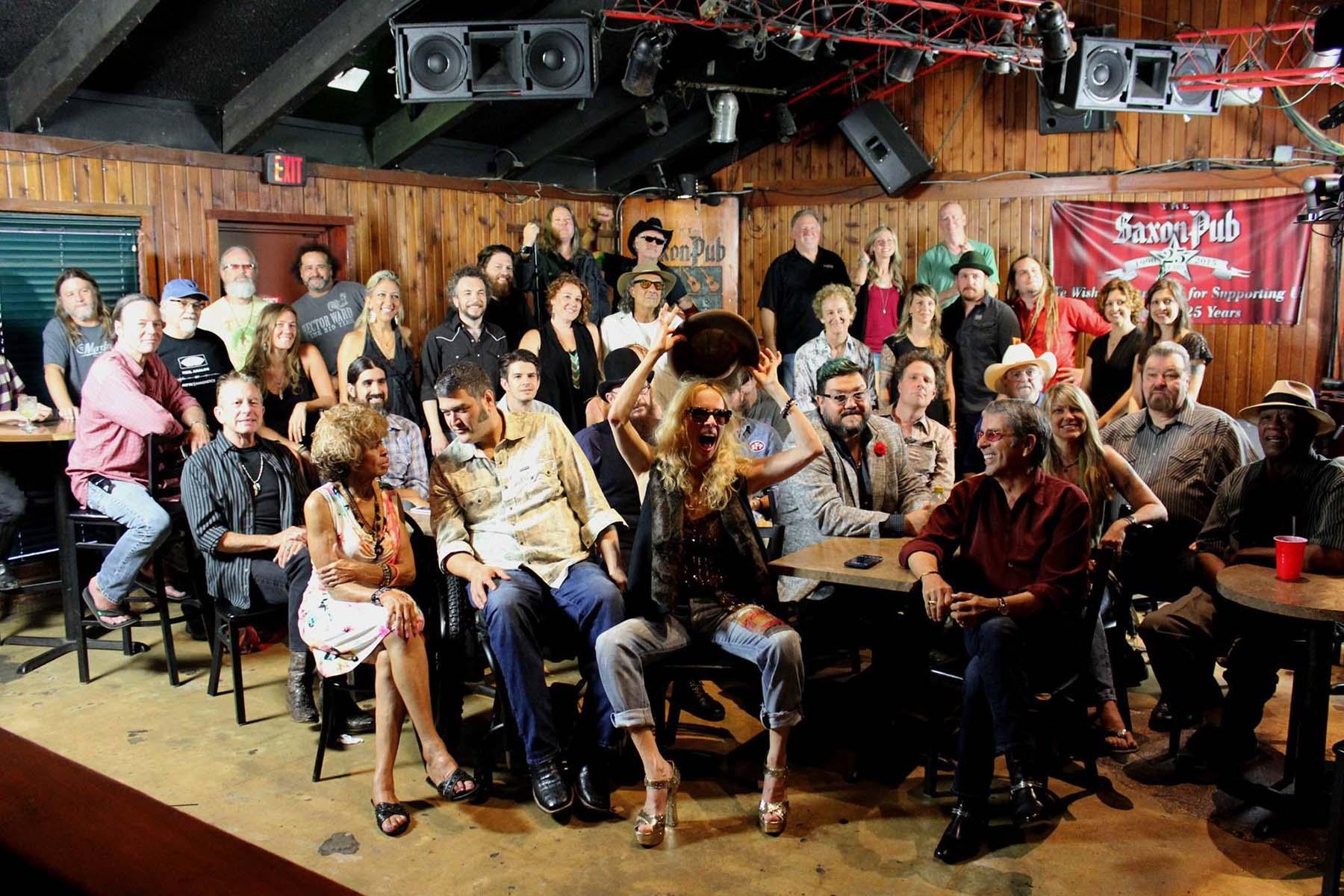 Saxon Pub reunion photo used with permission by Joe Ables - Saxon Pub