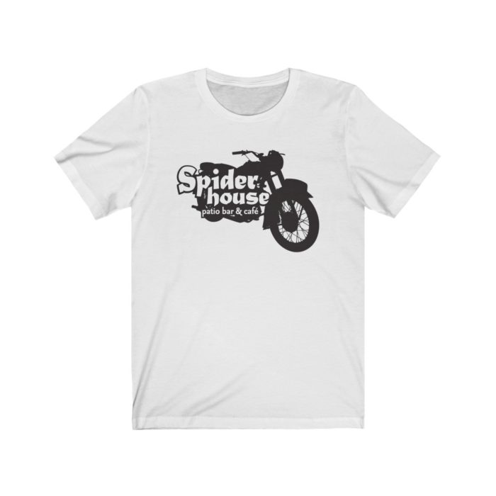 Spider House Cafe Motorcycle T Shirt - Austin TX